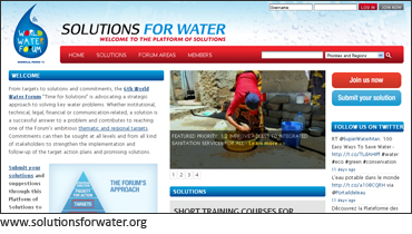 Platform of Solutions homepage